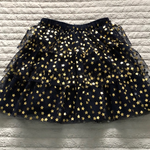 GAP Other - Brand new blue and gold lace skirt